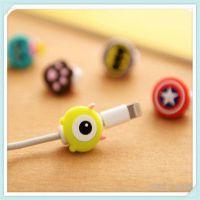 定制101创意手机数据线保护套卡通耳机充电线防断裂保护器绕线器