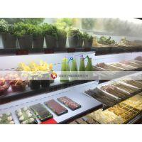 河南郑州风冷三门饮料柜定制批发,周口蔬菜水果保鲜柜制造商报价