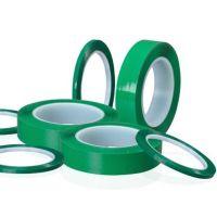 专业生产 绿色锂电池终止胶带 柔软性好 不起翘 耐电解液 粘性强 铝电池终止胶带