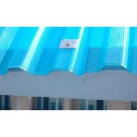 挡雨遮阳1mm透明日光瓦840型树脂纤维瓦FRP玻璃钢透明瓦批发