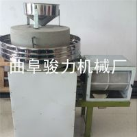 磨坊粗粮面粉加工机械 骏力牌 多用途石磨面粉机 畅销 电动石磨面粉机