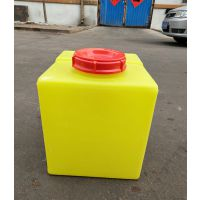 淄博供应40升加药桶耐酸碱腐蚀 房车水箱 周转箱PE塑料容器