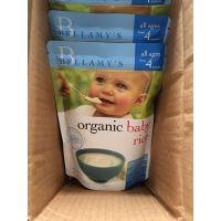 澳洲代购贝拉米米粉高铁大米米糊婴儿宝宝辅食125g 4个月直邮