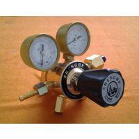 长期出售铜材质管道气体减压器 两端卡套接头