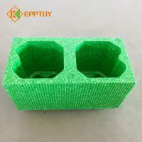 EPP双孔方砖积木 室内城堡益智积木乐园 韩国新材料EPP玩具