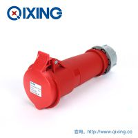 厂家直销 QIXING启星QX526 4芯 32A IP44 高端型工业连接器