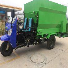 多种规格三轮喂养车 柴油机款撒料车 养牛厂喂料车 浩发