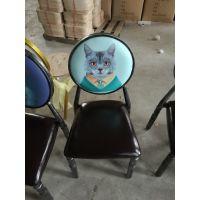 佛山卡航家具厂专营金属酒店椅 户外休闲铁艺餐椅 做旧主题餐厅椅子