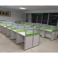 天津兴之鹏办公家具厂定做各种板式办公桌 工位桌培训桌