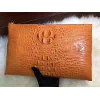 女包信封包女士手包大容量软皮鳄鱼纹手拿包手抓包真皮