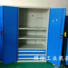 深圳 辉煌HH-235 钳工专用工具柜重型 带门带锁抽屉双门柜