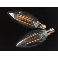 LED 灯丝灯 C35 2W/4W/6W E14/E27/B22 2700K-6000K 陶瓷灯丝灯