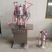 气雾剂灌装机 半自动灌装设备 三合一充装机器 喷雾剂机器 自喷漆 清洗剂 脱模剂 通用设备