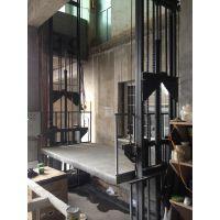 供应厂房仓库液压升降货梯导轨式升降货梯简易货梯升降台