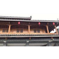 重庆市中国传统景观建筑物改造仿古木纹铝窗花生产合作加工厂