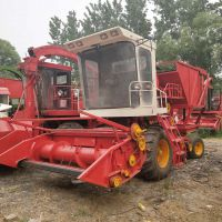 大型圆盘式青储机 玉米秸秆茎穗兼收青储收割机