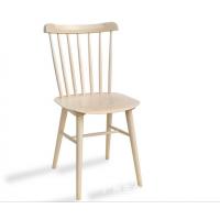 KFC北欧实木椅子肯德基快餐店同款专用餐厅休闲风格温莎餐椅