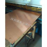 杭州TU1无氧红铜板批发 国标紫铜小板零切 红铜板镀镍镀锡加工