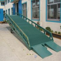 港口集装箱装卸平台,移动式液压登车桥规格,物流移动式登车桥