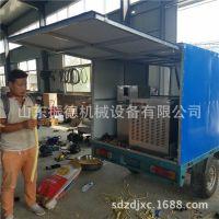无噪音食品膨化机价格  振德 新型车载大米花机  绿豆香酥机