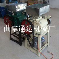 通达生产 商用燕麦挤扁机 多功能优质粮食加工设备 粗粮压扁机
