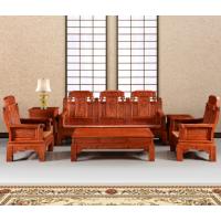 东阳非洲缅甸花梨木红木沙发花梨木沙发如意象头酸枝实木客厅家具整装组合