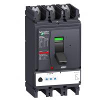 施耐德电气NSX400N MIC2.3 400A 3P手动固定 塑壳配电保护断路器