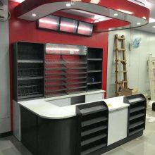 收银台连锁店专用收银台红酒货架商场收银台货架堆头柜