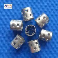 厂家直销金属鲍尔环规格齐全304材质脱硫塔散堆填料不锈钢鲍尔环