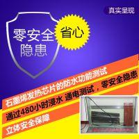 碳丰石墨烯发热膜 电发热膜 发热膜 远红外面发热芯片智能电地暖