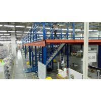隔层货架|钢结构平台|组合工字钢阁楼|重型隔层货架