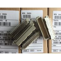 ERNI恩尼弯角式C/2型48针焊接公连接器254324