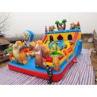 农村小项目充气蹦床哪买 怎样经营好充气滑梯玩具 150平大型汽包玩具