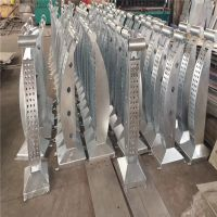 金聚进 室外铁栏杆 桥梁镀锌栏杆 桥梁金属铁艺护栏厂家直销 可定制