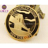专业定制金属纪念币 纯金纯银纪念币定做 颁奖礼品纪念章制造