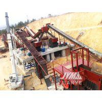 日产5000方的花岗岩破碎生产线|碎石设备整套出售