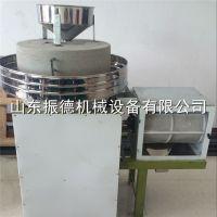 新型杂粮面粉石磨机 半自动石磨面粉机 低速研磨面粉机 振德牌