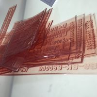 销售水印版2.84mm杜邦版纸盒印刷专