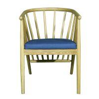 麦德嘉美式餐椅MDJ-ZTY08全实木大围椅子主题餐厅音乐餐吧咖啡厅桌椅