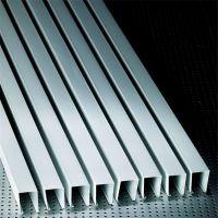 铝方通办公室学校吊顶外墙铝方通U槽方通铝格栅木纹方通定制