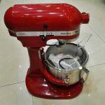 美国KitchenAid/厨宝升降式厨师机5KPM5RED 三功能搅拌机 4.8L打奶油机 台式打蛋