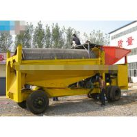 菲律宾移动选矿简单型淘金车 缅甸旱地沙金采选