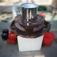 好用石磨机 带罗筛面干净 电动石磨机