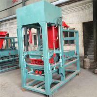 梦人批发透水液压砖机设备 新型免烧液压制砖机 砌块成型机