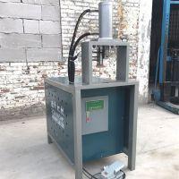方管冲菱形孔设备钢管冲弧机液压型材料冲孔打口加工设备