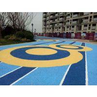 彩色透水混凝土路面材料