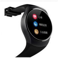 双核2017新款圆屏 智能手机手表安卓IOS双系统蓝牙手表