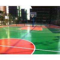 石家庄硅PU篮球场、球场地面施工