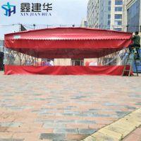 苏州姑苏区大排档烧烤专用推拉篷定做户外活动伸缩雨棚固定帆 布雨蓬