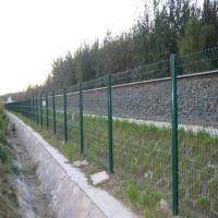 朋英 厂家供应 喷塑 镀锌丝 铁路护栏网